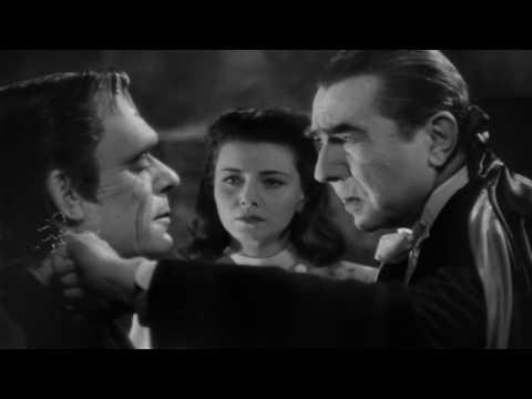 Abbott and Costello Meet Frankenstein 1948  Bela Lugosi  Lon Chaney Jr.