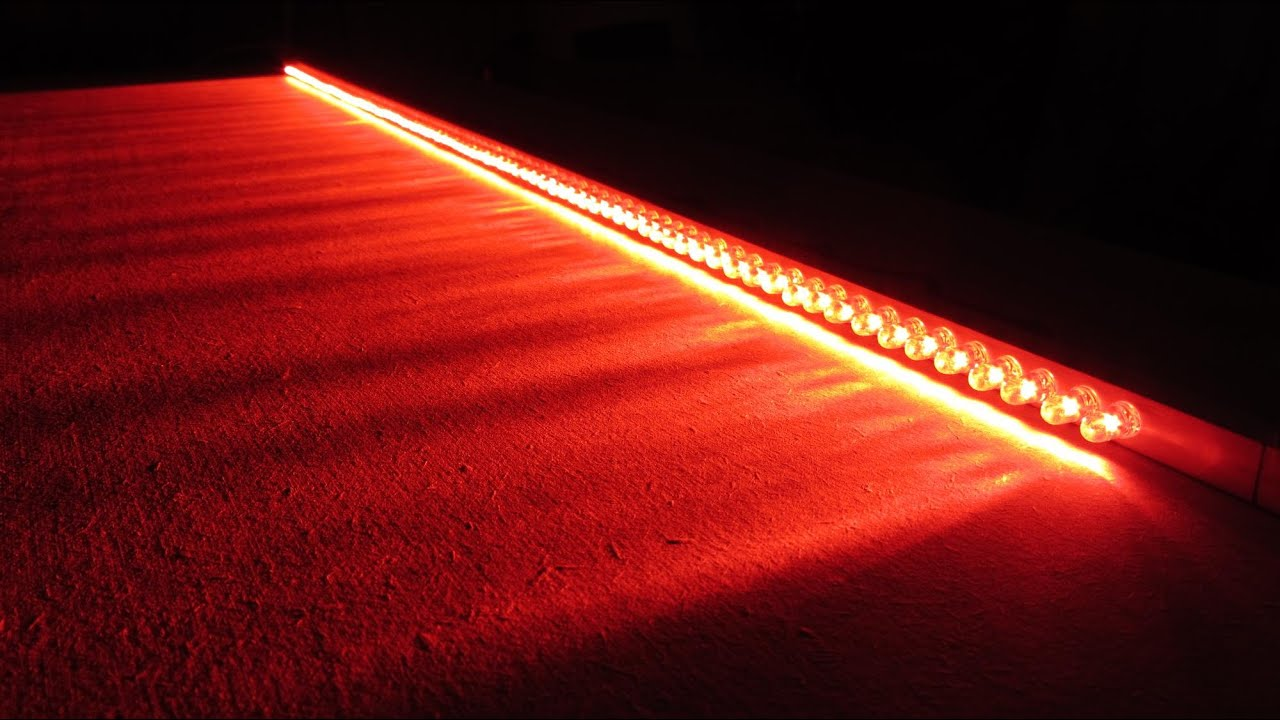 How to make car vehicle brake lights led bar wire multiple light how to make car vehicle brake lights led bar wire multiple light ideas 12v leds 5mm in series youtube aloadofball Image collections