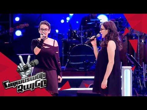Erica Davtyan vs Anna Danielyan sing 'Give Us a Little Love' - Battle – The Voice of Armenia 4