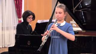 eMuse participation video - Aglaia Golubeva, oboe, 10 years old - Russia