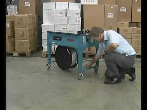 Semi-automatic Strapping Machines - Video Rajapack UK