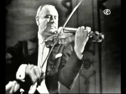 BAZZINI - LA RONDE DES LUTINS -  Violino: Zino Francescatti
