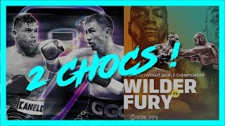 Deontay Wilder vs. Tyson Fury & Canelo Alvarez vs. GGG 2 | Podcast La Sueur