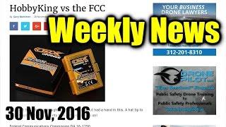 Weekly News (30 Nov, 2016)