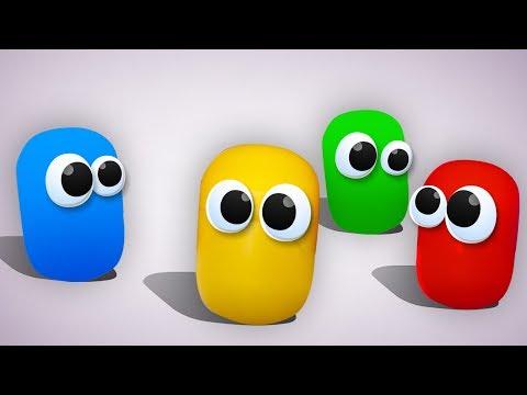 Живая Капсула - 100 Киндеров. Обзор на КИНДЕРЫ с игрушками Барбоскины, фигурки Лунтик и другие
