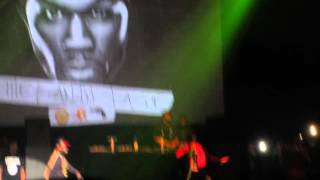 50 Cent brings out Chris Brown to perform Loyal at Fox Theater in Oakland