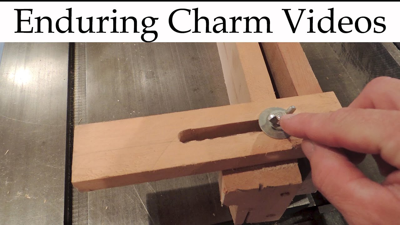 12 Table Saw Taper Jigs You Can DIY Easily
