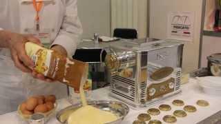Marcato Ristorantica - 1. Тесто для пасты и макарон (пошаговый видео рецепт pasta fresca)