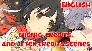 Neptunia X Senran Kagura Ninja Wars Ending, Credits and After Credits Scenes (English, PS4 Pro)