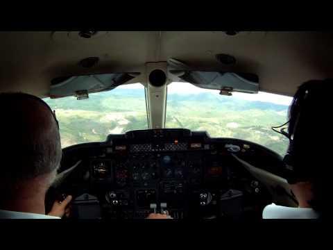 Learjet 31 Landing Toncontin MHTG