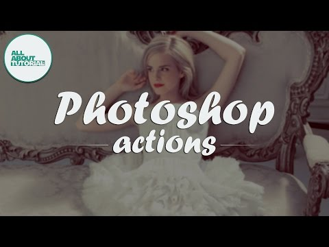How To Install, Using / Applying an Actions Photoshop | Cara Menggunakan Actions pada Photoshop