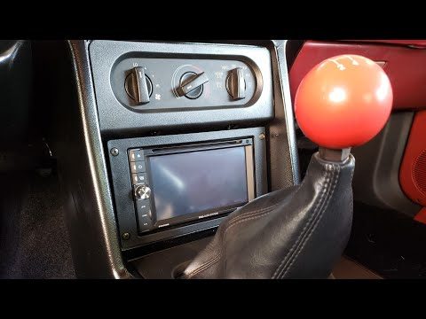 Installing A Double Din Stereo In A Foxbody Mustang
