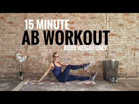 Ab Workout | Intermediate Advanced | No Equipment | 15 Minutes