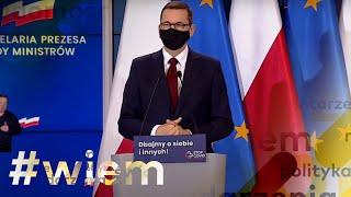 Koronawirus w Polsce. Szczepionka na COVID-19 - konferencja prasowa premiera