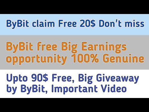 Free 20$ Instant   ByBit Exchange Upto 90$ Free Btc Earning   One Click Win 5$ To 90$ Free Instant