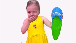 Anabella ascunde slime in papucii lui Bogdan Istorioara amuzanta pentru copii