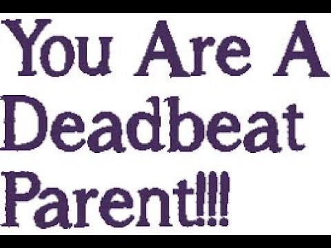 an analysis of the description of deadbeat parents There should be a definition for a dead beat husband who causes his wife so from seneca sc is a prime example of a deadbeat dad 2)deadbeat dads litter the world.