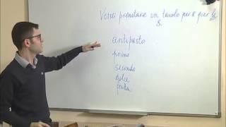 Урок итальянского на телеканале
