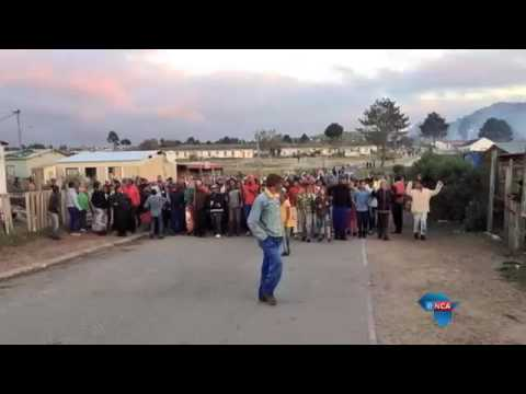 Traffic department in flames as protesters vent their anger in Grabouw