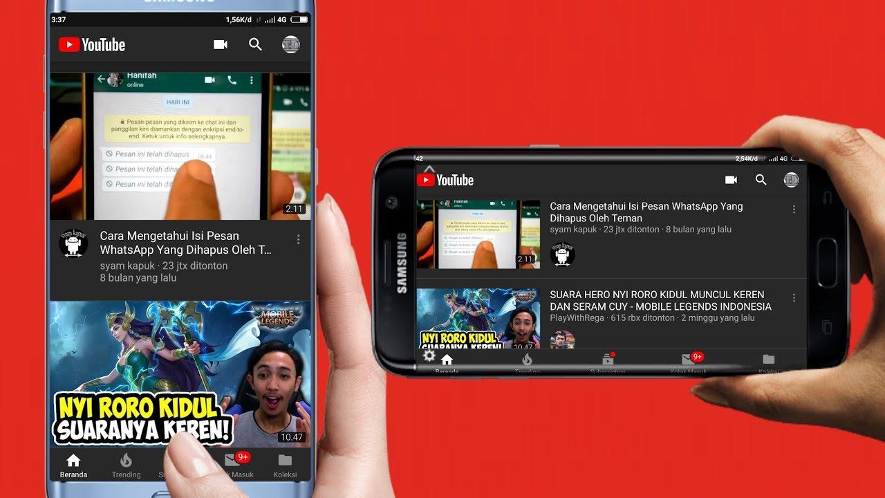 Cara Merubah Tampilan Youtube Menjadi Gelap Youtube