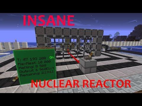 6900 EU/t Nuclear Reactor - Tekkit Lite