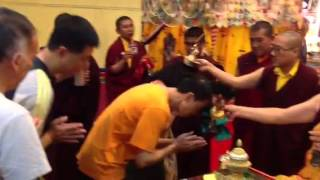 Blessing by Shangpa Rinpoche 20