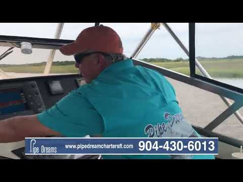 Offshore Charter Fishing Amelia Island with Pipe Dream Charters