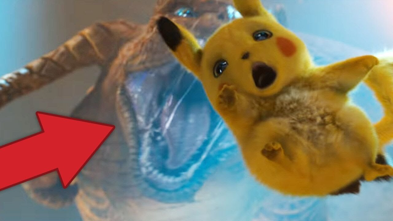 Pokemon Detective Pikachu Trailer Breakdown 60 Pokemon Easter