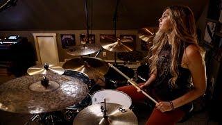 """JINJER """"Outlander"""" Drum Cover~Brooke C"""