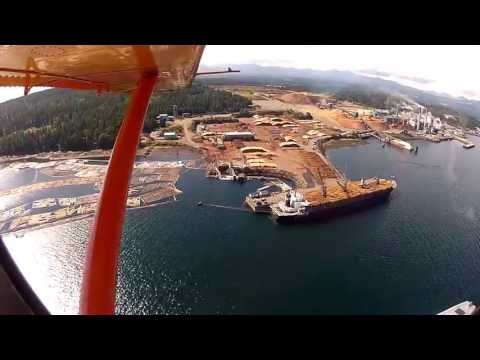 Canada Exports Millions of Logs Every Year by DeHavilland Beaver