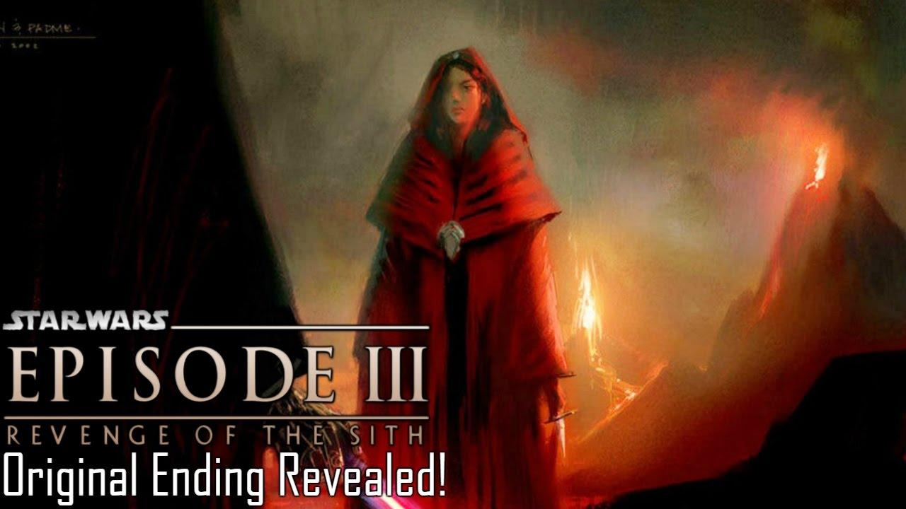 Original Ending For Revenge Of The Sith Revealed Youtube