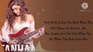 tanhai tulsi kumar Lyrics Song || MP3 Full Song Audio Song ( Dj All )
