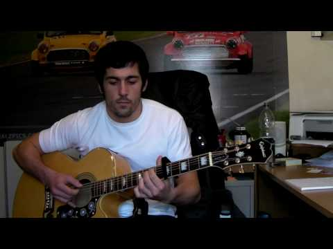 Katie Perry - I Kissed A Girl Acoustic Fingerstyle By Ian Jamieson