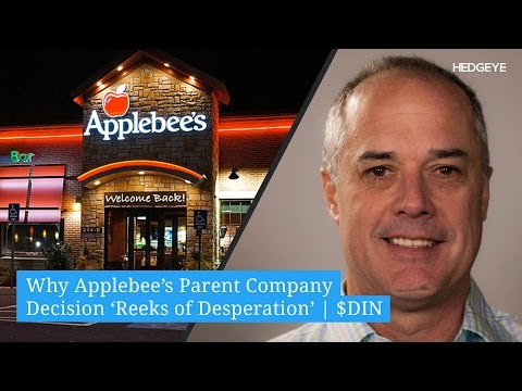 Why Applebee's Parent Company Decision 'Reeks of Desperation' | $DIN