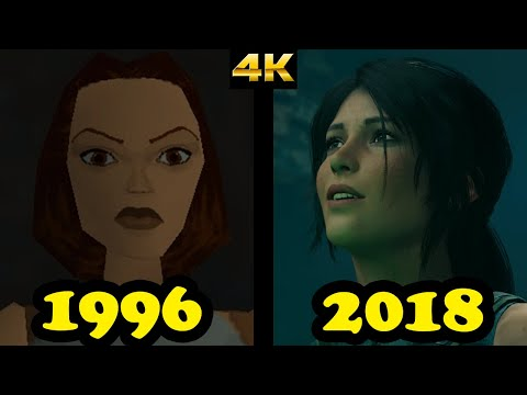 Evolution of Tomb Raider on PC (1996-2018)  