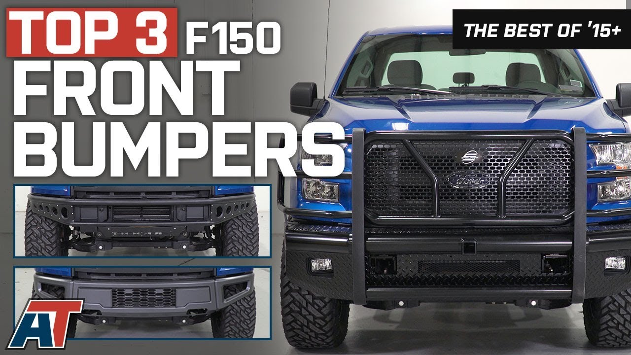 Aftermarket Truck Bumpers >> The 3 Best F150 Front Bumpers for 2015-2017 Ford F150 - YouTube