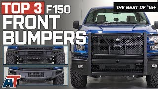 The 3 Best F150 Front Bumpers for 2015-2017 Ford F150