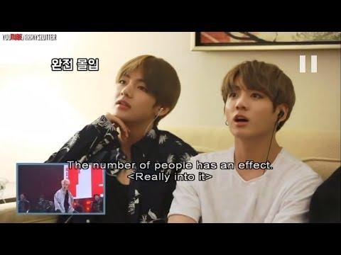 [Sub Español] BTS Reacciona A Su Concierto (VCR, NOT TODAY, BEGIN) (Parte 1)