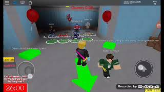 My friend and I played roblox for the second time, and I became granny.