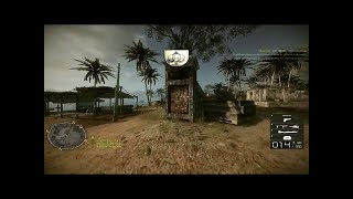 Battlefield: Bad Company 2 Vietnam Gameplay - Cao Son Temple Rush / Asalto en Templo de Cao Son