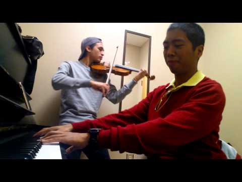 A Thousand Miles violin+piano duet with Herson Pérez