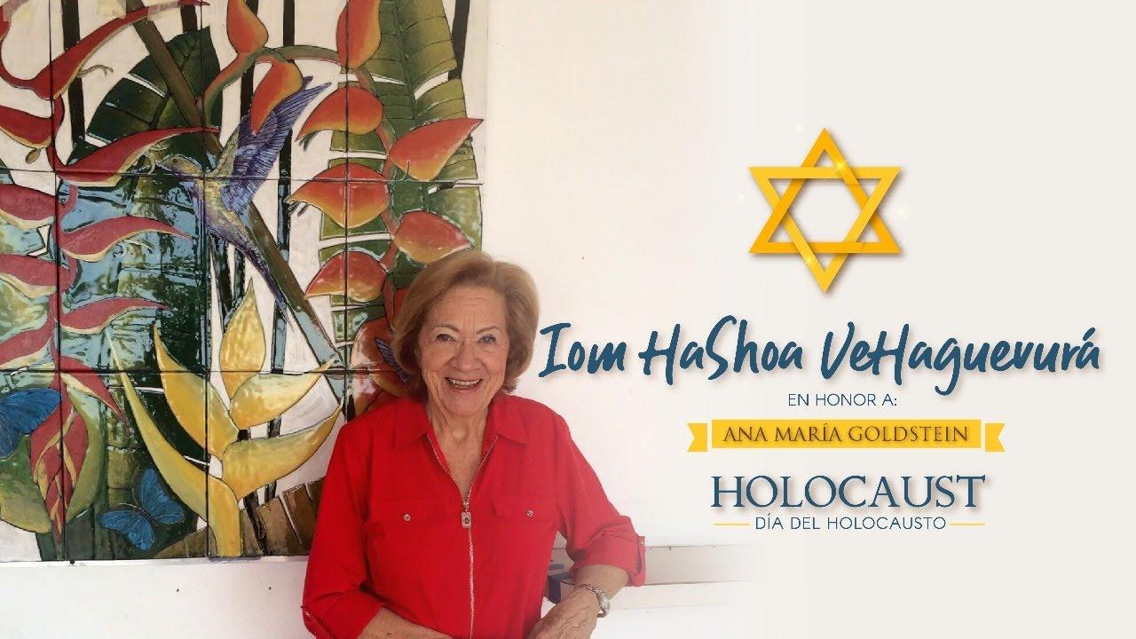 "Video: Iom HaShoa veHaGvura. Kehila Mesiánica Yovel. Homenaje a mi mamá, Anamaria Goldstein, Z""L"