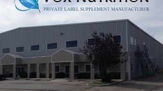 Private Label Supplement Manufacturer - Vox Nutrition