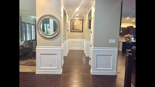 Wainscoting Ideas for your home - DIY
