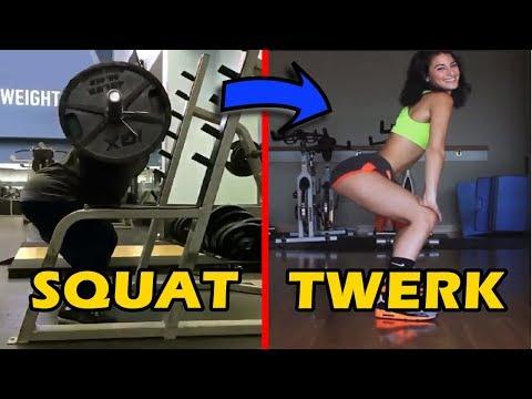 Squat Twerk - Best Shoulder Exercises