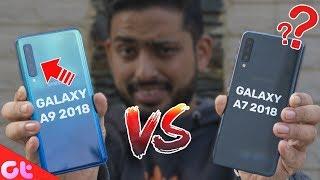 Samsung Galaxy A7 vs Samsung Galaxy A9 Comparison, Camera, Speed, Design, Battery