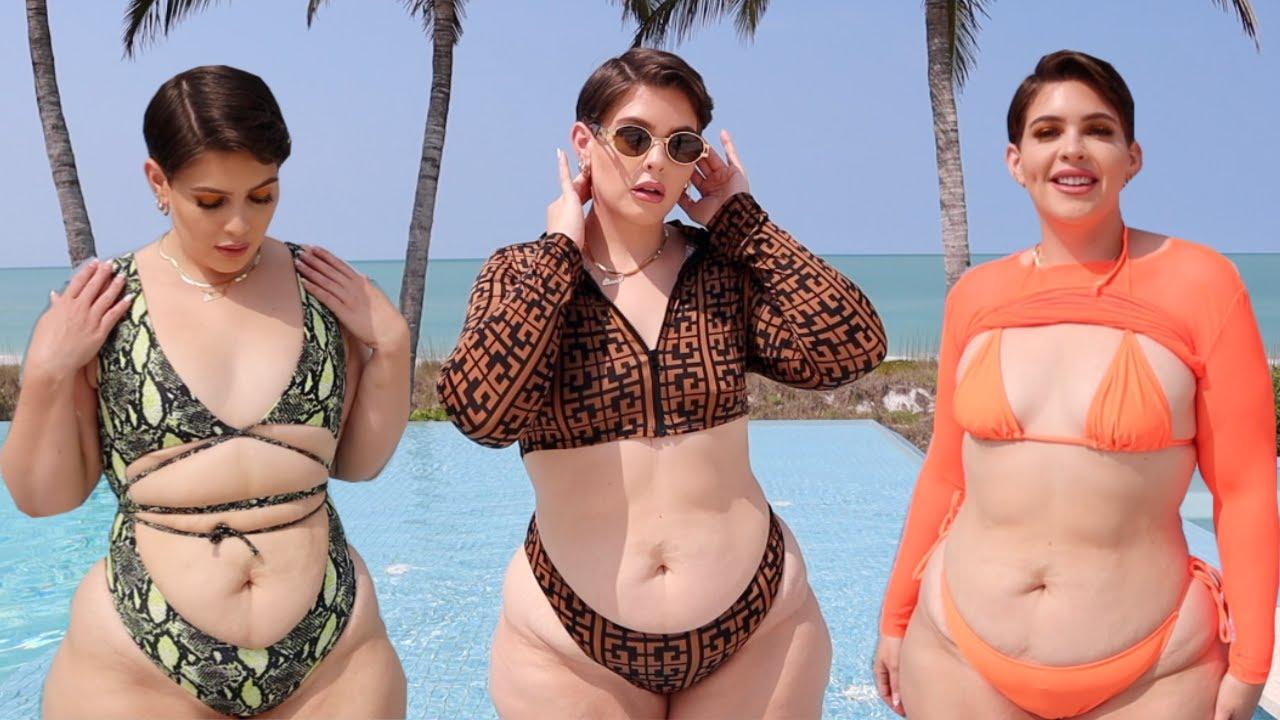 Tropical Birthday Bikini Haul!  Fashion Nova Curve