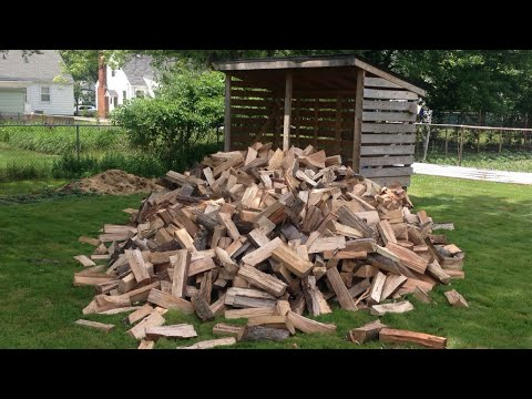 Load a Firewood-Storage Shed
