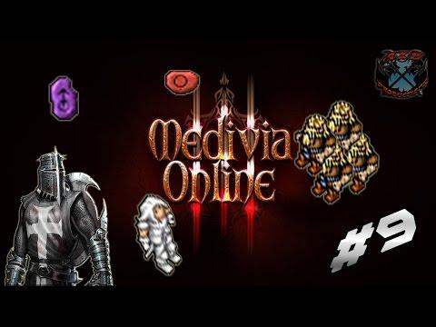 AXB On Medivia Online #9 - Tasks com Runas