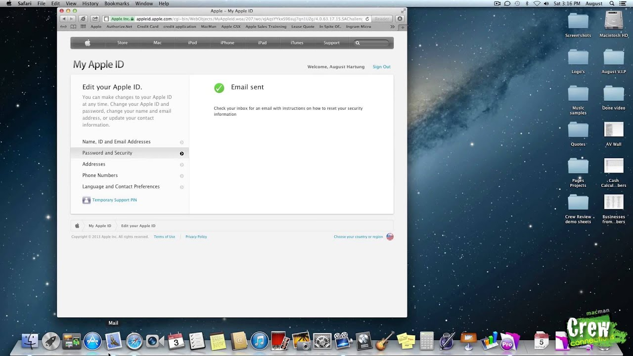 Apple Quick Tip   Reset Apple ID Security Questions   YouTube